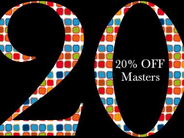 20% Off until End November