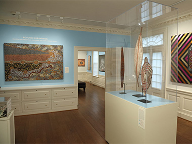 30 YEARS OF ABORIGINAL ART IN THE US