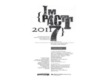 IMPACT 7:  International Multi-disciplinary Printmaking Conference