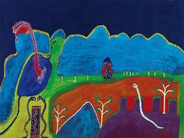 Aboriginal Artist Auction Records at Stellar Sotheby's Sale