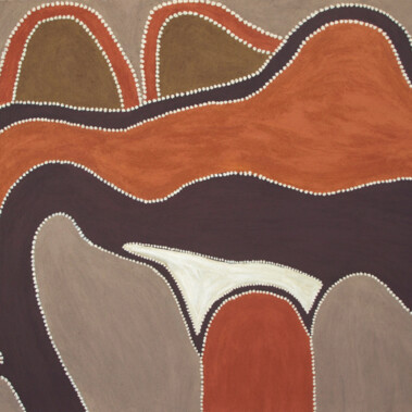 """All Around the DuncanJock says of this painting: """"Real sandy desert country around here.  No water in plains"""