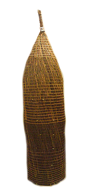 An-gujechiya (Fish Trap)Artists work for three or four weeks creating a fish trap.