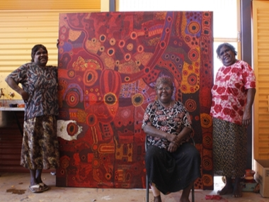 APY LANDS PROJECT INVOLVES YOUNG & OLD