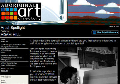 Artist Spotlight featuring Adam Hill