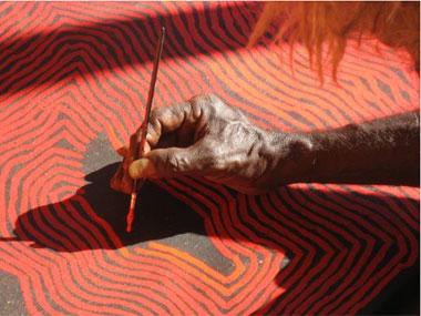 AUSTRALIA CONTEMPORARY:  Aboriginal Art + Modern Architecture