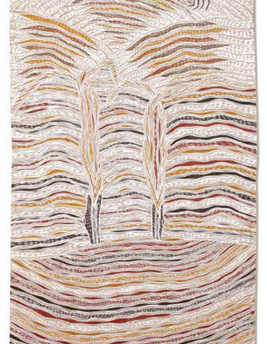 BaraltjaThis artwork was part of a special slideshow feature for the fundraising auction Ochre: Supporting Indigenous Health in 2008.