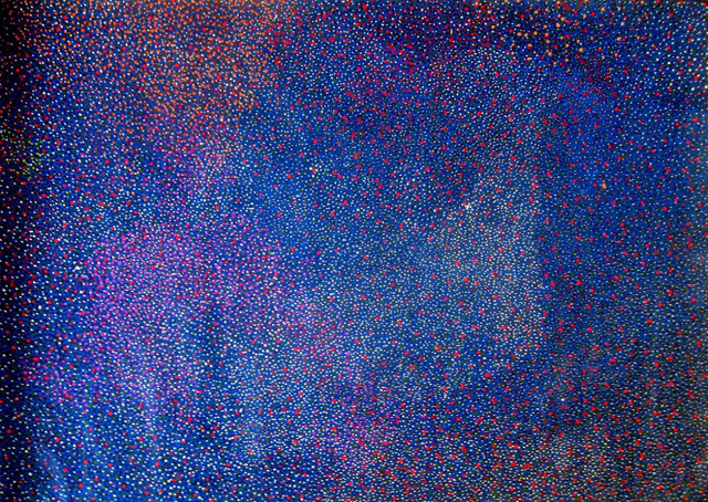 Bush Plum (Arnwekety) DreamingThere is a great deal of confusion amongst Aboriginal art collectors surrounding the identities of Angelina Ngal(e) and Angelina Pwerl(e). They are