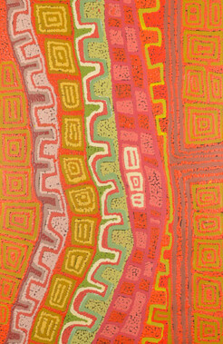 Canning Stock Route CountryRead about Patrick Olodoodi Tjungurrayi in our Aboriginal Art News
