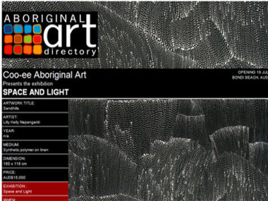 Coo-ee Aboriginal Art presents Space and Light