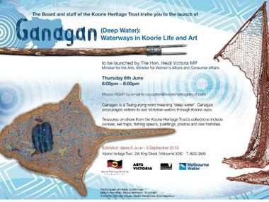 Ganagan (Deep Water) on Display