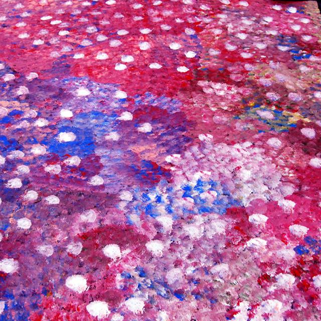Desert FlowersLanita Numina paints predominantly