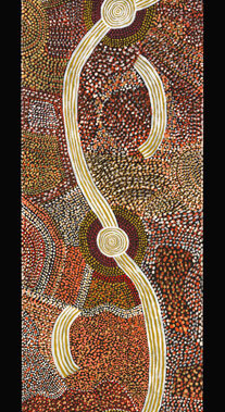 Dreaming of MatjadjiThis artwork was part of a special slideshow feature for the exhibition Papunya Painting: Out of the Desert at the Australian Museum