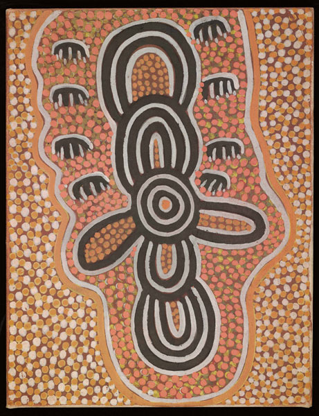 Flying DingoesThis artwork was part of a special slideshow feature for the exhibition Papunya Painting: Out of the Desert at the Australian Museum