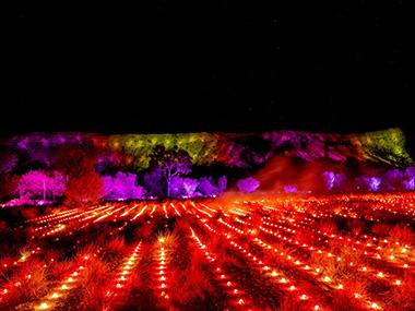The Red Centre's Festival of Light