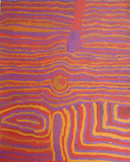 Jilji Sandhill CountryIn this painting Elsie has depicted the jilji