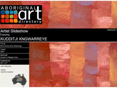 Kudditji Kngwarreye Artist Slideshow