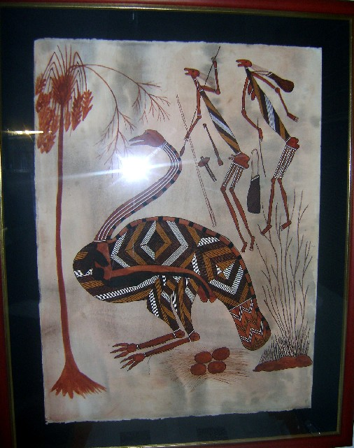 Kurrukadji The EmuThe emu is an important totem species for many of the Gunwingjku people of Arnhemland.
