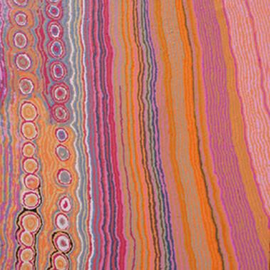 Lappi Lappi JukurrpaThe subject of this work is Lappi Lappi