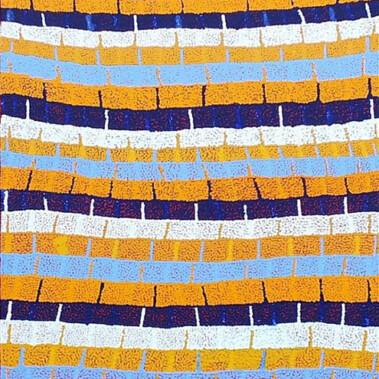 Lukarrara Jukurrpa (Desert Fringe-rush Seed Dreaming)This Jukurrpa belongs to women of the Nakamarra/Napurrurla subsections and to Jakamarra/Jupurrurla men. This Dreaming is associated with a place called Jaralypari