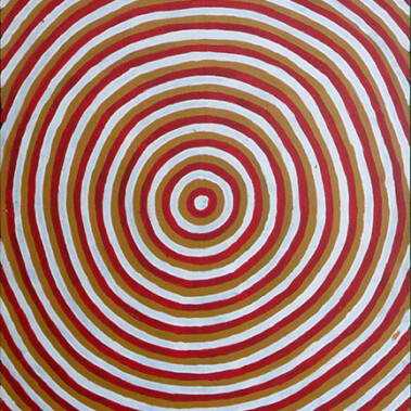Moon DreamingNote: This is one of a small number of artworks available by the original group of Papunya men