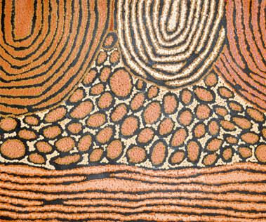 """My Country""""My Country"""" refers to country located in the Western Australian desert. It portrays the epic journeys of ancestors through the vast hills"""