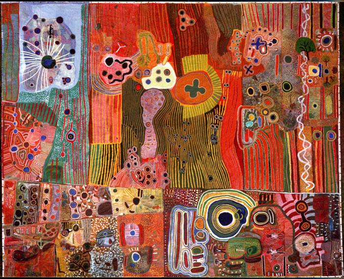 The Ngurrara Canvas.