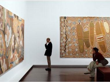 Parisians flock to new exhibit of Australian Aboriginal art