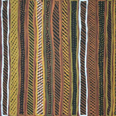 "Pupuni Jilamara""During ceremony on the Tiwi Islands a series of 'yoi' (dances)"