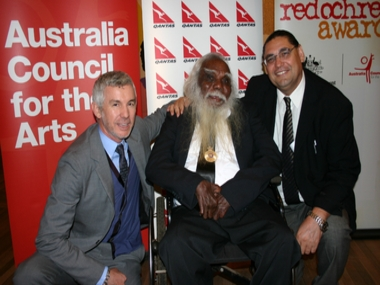 RED OCHRE PRIZE GOES TO DOUGHTY FIGHTER