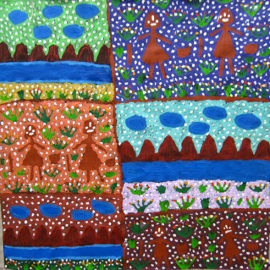 Seven SistersThe Napaltjarri sisters descend from the seven sisters constellation in the sky