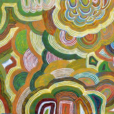 "Tali - SandhillsIn this painting Eunice has depicted ""Tali"""