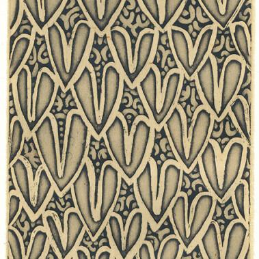 Thabu tutuwam (snake scales) smallThe snake skin pattern represents my totem.