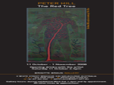 The Red Tree - An exhibition of paintings by Peter Hill