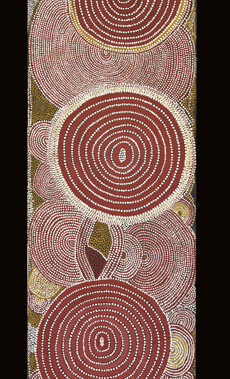 The Two Women DreamingThis artwork was part of a special slideshow feature for the exhibition Papunya Painting: Out of the Desert at the Australian Museum