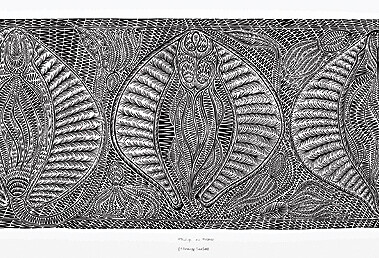 Thulup au thoner (stingray season)My artwork and images are based on my culture and heritage