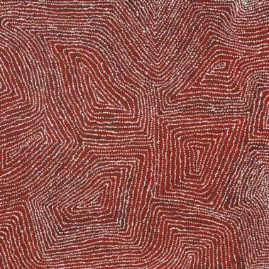TingariGeorge (Hairbrush) Tjungurrayi began painting amongst the second generation of western desert artists and exhibited prominently and more frequently from the early 1990's. His first solo exhibition was held in 1997 at Utopia Art
