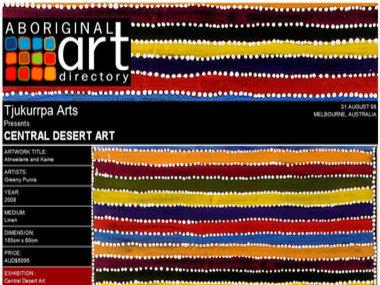 Tjukurrpa Arts presents Central Desert Art