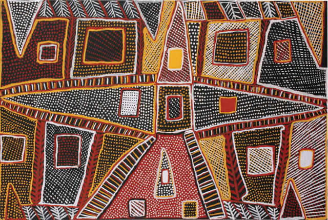 Untitled This artwork was part of a fundraising auction Ochre: Supporting Indigenous Health through Art.