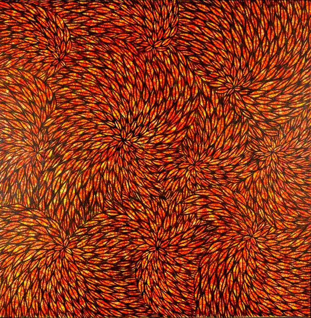 UntitledSally Kemara Perkins a young Eastern Desert artist who paints the landscape after the rains