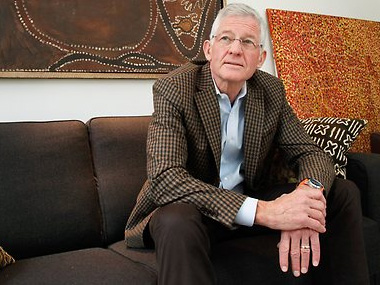 US art collector sees red over 'dysfunctional' ban on Aboriginal painting