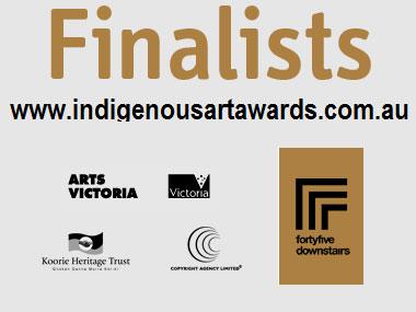 Victorian Indigenous Art Awards Finalists