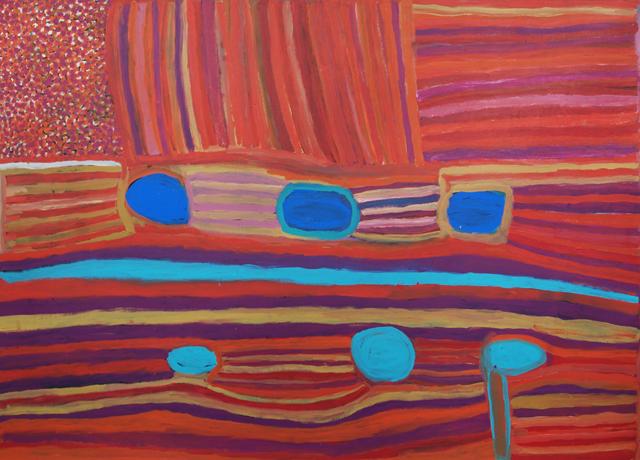 Warla Country WaterholesSix waterholes in the Artist's country from Kirriwirri to Kupankurlu.
