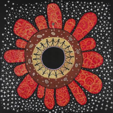Warmun mandalaPrivate collection Perth © Courtesy Trevor Nickolls