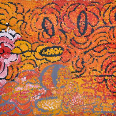 "WarputiThis painting is Lorna's depiction of ""Warputi"""