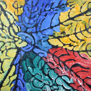 "YalaThis painting is Lorna's depiction of ""Yala"""
