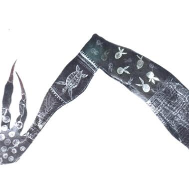 Zuga Zug (Witch's Chant)This artwork won an award at the 28th NATSIAAs (Telstra Indigenous Art Award).