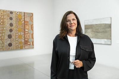 Hetti Perkins, Senior Indigenous curator.